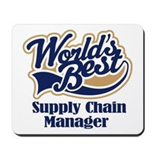 Supply Chain Manager (Worlds Best) Mousepad