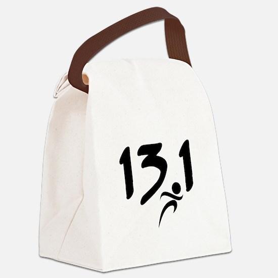 13.1 half-marathon Canvas Lunch Bag