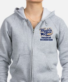 Surgical Technician (Worlds Best) Zip Hoodie