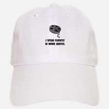 Speak Movie Quotes Baseball Baseball Cap