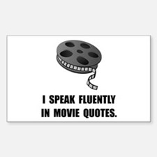 Speak Movie Quotes Decal