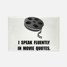 Speak Movie Quotes Rectangle Magnet (10 pack)