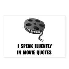 Speak Movie Quotes Postcards (Package of 8)