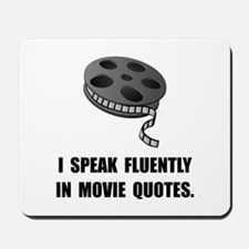 Speak Movie Quotes Mousepad