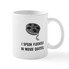 Speak Movie Quotes Small Mug