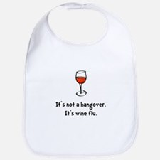 Wine Flu Bib