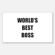 Worlds Best Boss Decal