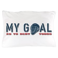 My Goal, Lacrosse Goalie Pillow Case