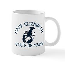 Cape Elizabeth ME - Lobster Design. Mug