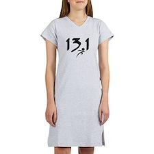 13.1 half-marathon Women's Nightshirt