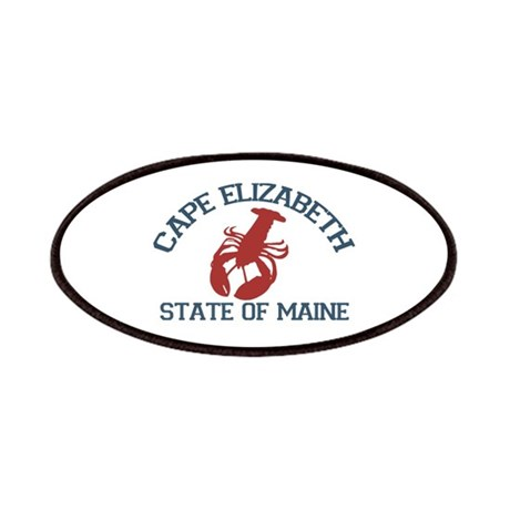 Cape Elizabeth ME - Lobster Design. Patches