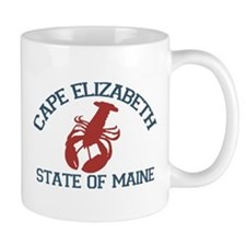 Cape Elizabeth ME - Lobster Design. Mug