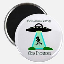 Cycling Hazards - Close encounters Magnet