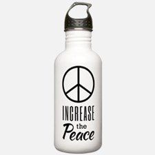 Increase the Peace Water Bottle