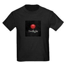 Twilight Lettering with Red Apple T
