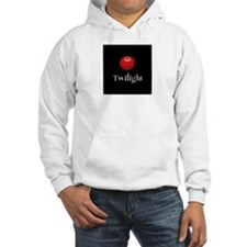 Twilight Lettering with Red Apple Hoodie