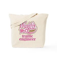 Traffic Engineer (Worlds Best) Tote Bag