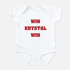 WIN KRYSTAL WIN Infant Creeper
