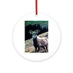 Mountain Sheep Ornament (Round)