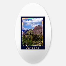 Arizona Sticker (Oval)