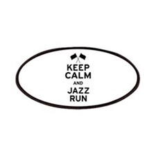 Keep Calm and Jazz Run Patches
