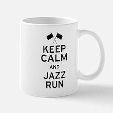 Keep Calm and Jazz Run Mug