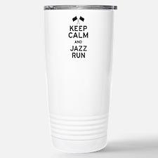 Keep Calm and Jazz Run Travel Mug