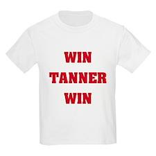 WIN TANNER WIN Kids T-Shirt