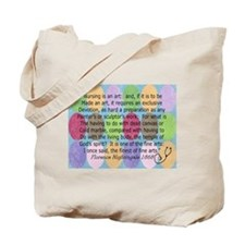 Florence Nightingale Quote Bag.PNG Tote Bag