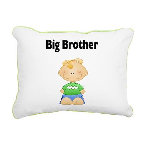 Blonde Big Brother Pillow