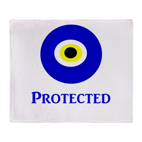 Evil Eye Throw Blanket