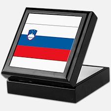 Slovenia - National Flag - Current Keepsake Box