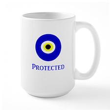 Evil Eye Ceramic Mugs