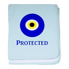 Evil Eye baby blanket