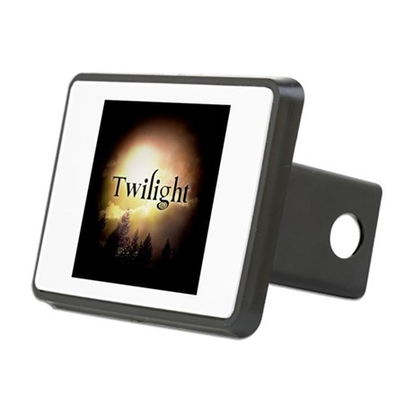 Twilight Forks Rectangular Hitch Cover