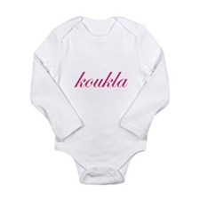Koukla Long Sleeve Infant Bodysuit