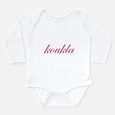 Koukla Long Sleeve Infant Bodysuit
