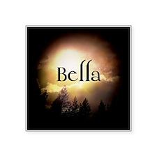 "Bella Twilight Forks Square Sticker 3"" x 3"""