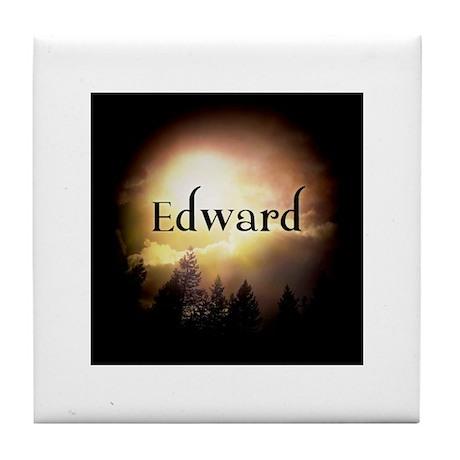 Edward Twilight Forks Tile Coaster