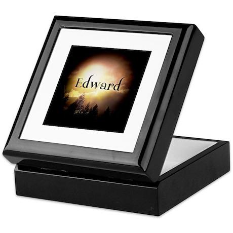 Edward Twilight Forks Keepsake Box