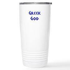 Greek God Travel Mug