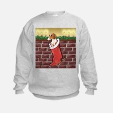 Piebald Christmas Sweatshirt