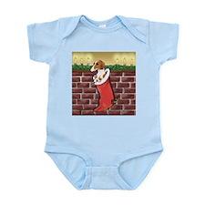 Piebald Christmas Infant Bodysuit
