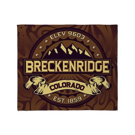 Breckenridge Sepia Throw Blanket