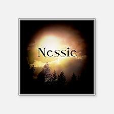 "Nessie Twilight Forks Square Sticker 3"" x 3"""