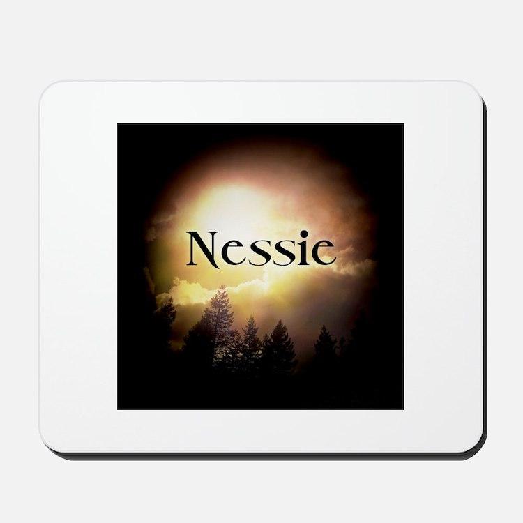 Nessie Twilight Forks Mousepad