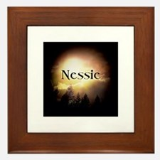 Nessie Twilight Forks Framed Tile