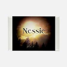 Nessie Twilight Forks Rectangle Magnet
