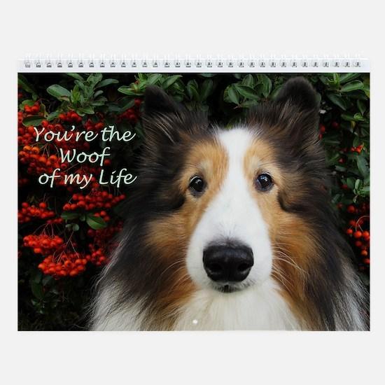 Woof of My Life Wall Calendar