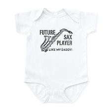 Future Sax Player Like My Daddy Infant Bodysuit